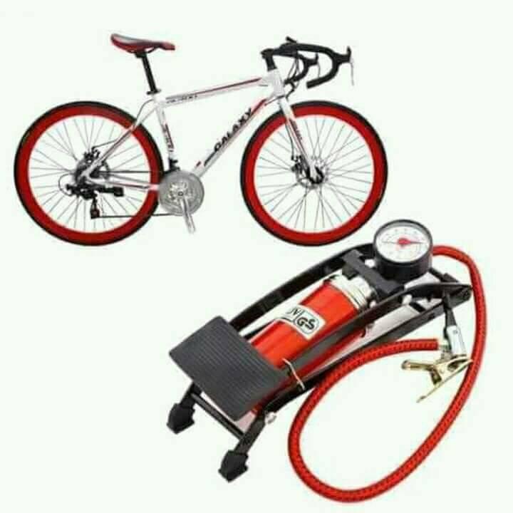Bơm đạp chân ô-tô, xe máy JC 702A (Đỏ) - 3075684 , 1222416437 , 322_1222416437 , 199000 , Bom-dap-chan-o-to-xe-may-JC-702A-Do-322_1222416437 , shopee.vn , Bơm đạp chân ô-tô, xe máy JC 702A (Đỏ)