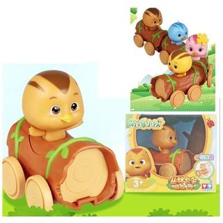 Katuri Mô Hình Chip Đáng Yêu Và Xe Gỗ Bánh Đà Đồ chơi trẻ em
