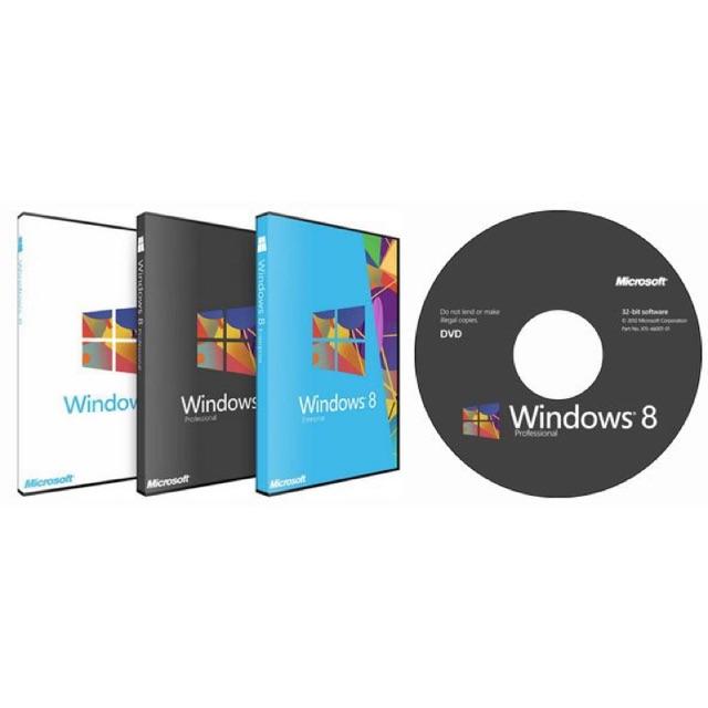 Đĩa DVD Cài đặt Windows XP - 7 - 8.1 - 10 (32/64bit)