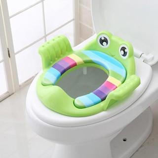 Bệ vệ sinh hình con ếch có tay cầm cho bé yêu sạch sẽ, tiện lợi, thiết kế nhỏ gọn SP20691095