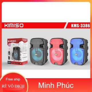 [Mã ELFLASH5 giảm 20K đơn 50K] Siêu giảm giá - Loa Di Động Karaoke KIMISO KMS-3386 (Bass 6.5