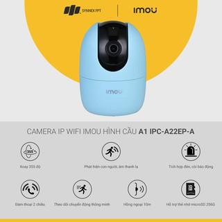Camera IP WIFI Imou hình cầu A1 IPC-A22EP-A 2M, 2Y WTY (Blue)_IPC-A22EP-A - Hàng Chính Hãng