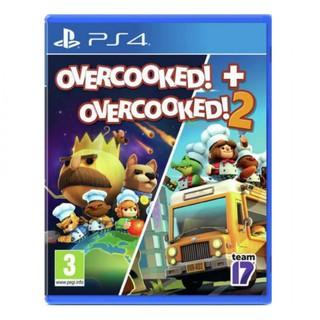 Đĩa game ps4 Overcooked 1 2
