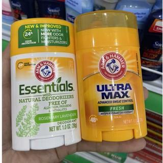 Sáp khử mùi Arm & Hammer khô thoáng 28g USA thumbnail