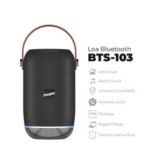 Loa Bluetooth Energizer Kèm Pin Dự Phòng BTS-103 tích hợp FM, Thẻ Micro SD, USB, AUX - Hàng Chính Hãng thumbnail