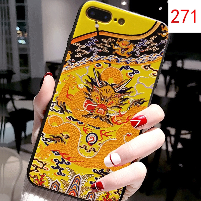Case For Huawei Honor 20i 10i Y6 Pro 2019 Cover Emboss Palace Style Huawei Y7 prime 2019 Case