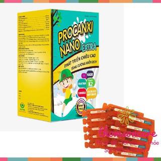 Procanxi Nano Extra hỗ trợ phát triển chiều cao - Tăng hệ miễn dịch - hộp 20 ống Chính hãng thumbnail