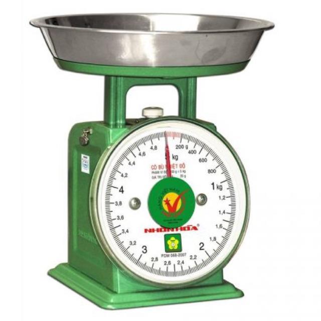 [ Chính hãng] Cân đồng hồ lò xo nhơn hoà 5kg