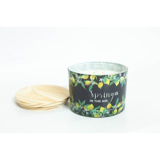 Nến thơm VNXK loại 3 bấc Scented Candle Spring is in the air 480gr