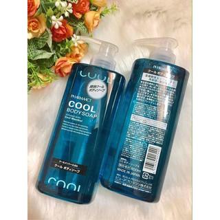 Sữa Tắm Cool Body Soap PHARMAACT Nhật Bản (600ml)