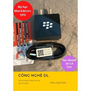 Bộ Sạc BlackBerry 1cổng Usb 18W QC 3.0 - Công Nghệ GaN BB-A216 thumbnail