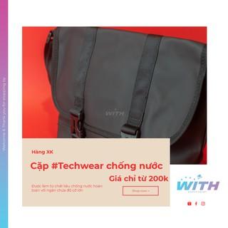 Cặp túi #Techwear chống nước