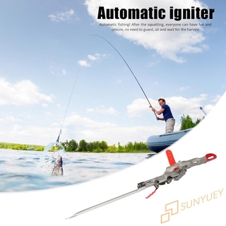 【se】Foldable Automatic Spring Fishing Pole Bracket Durable Outdoor Fishing Gear