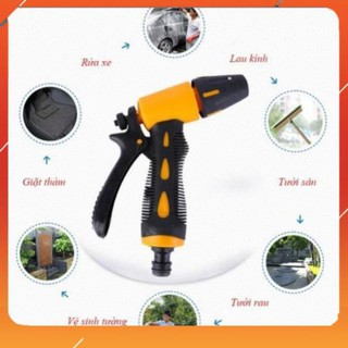 Vòi tưới cây rửa xe Evoucher Vòi xịt nước tăng áp thông minh rửa xe, tưới cây có đầu xoay tiện lợi M319622162236224 thumbnail