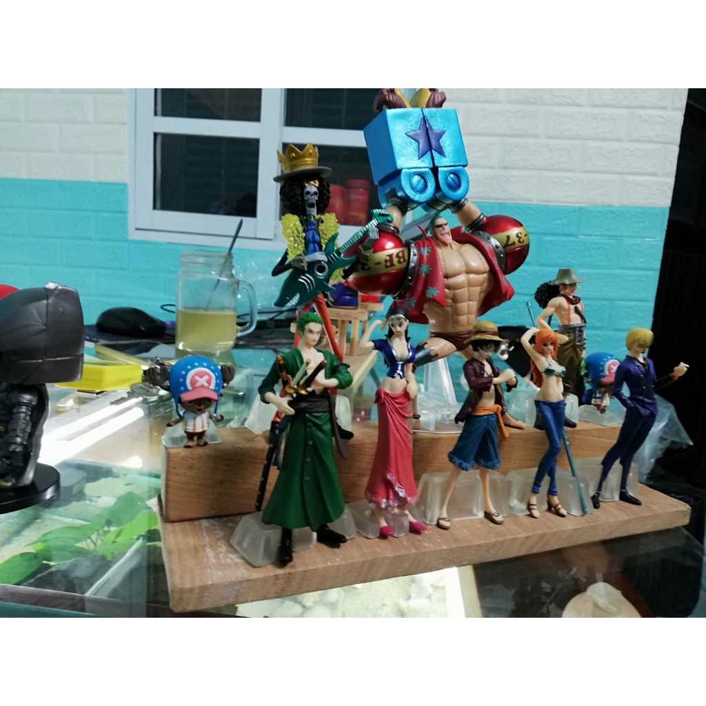 Mô Hình Team Luffy Mũ Rơm | Mô Hình One Piece