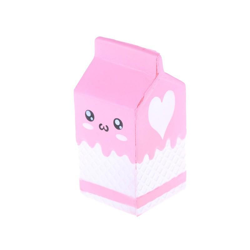 Đồ chơi bóp Squishy mềm hình sữa dễ thương |buttanghinh