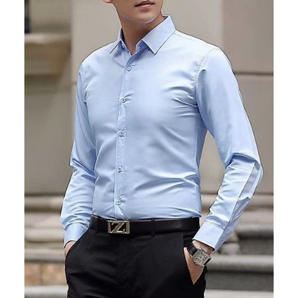 Áo sơ mi nam dài tay màu đen vải rất đẹp