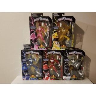 Bộ 5 anh em siêu nhân Power Rangers Lecacy Metallic chính hãng