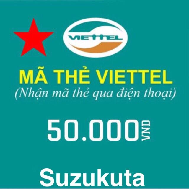 Mã Thẻ Viettel 50k