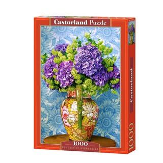 C104352 Xếp hình Bouquet of Hydrangeas 1000 mảnh CASTORLAND