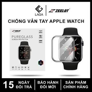 Cường Lực Chống Vân Tay Dẻo Zeelot 3D Curved Apple Watch 40mm / 44mm