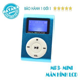 Máy Nghe Nhạc Mp3 MINI có màn hình-kẹp gắn quần áo-tặng tai nghe và dây sạc-digital mp3 player thumbnail