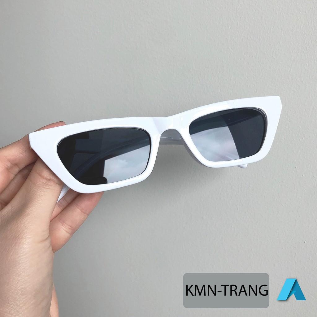[Mã FAFS9 hoàn 20% đơn 99K] Kính mát nữ gọng vuông , kính mát nữ mắt mèo chống tia UV400