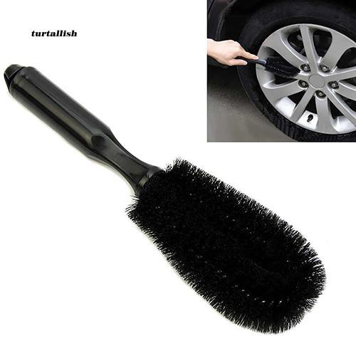 TUR♥Car Vehicle Motorcycle Wheel Hub Tire Rim Scrub Brush Washing Cleaning Tool Cleaner