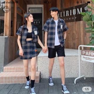 Combo áo cặp set đồ đôi nam nữ KHUYẾN MÃI THÁNG 7
