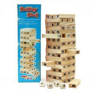 Bộ rút gỗ Size lớn, cỡ đại giúp bé chơi đã hơn