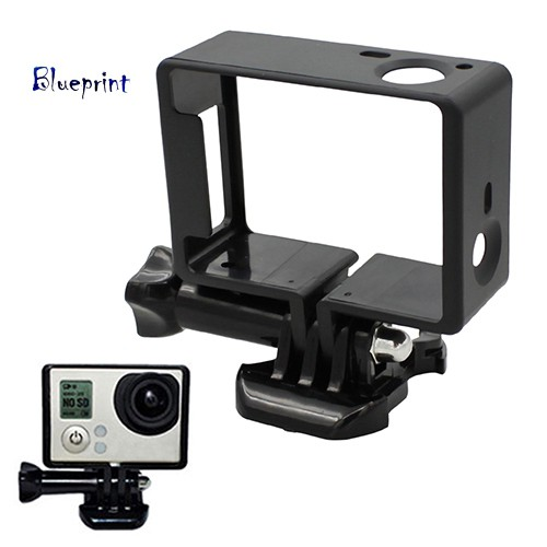 囍BPStandard Frame Mount Protective Housing Case for GoPro HD Hero 3 3+ Camera