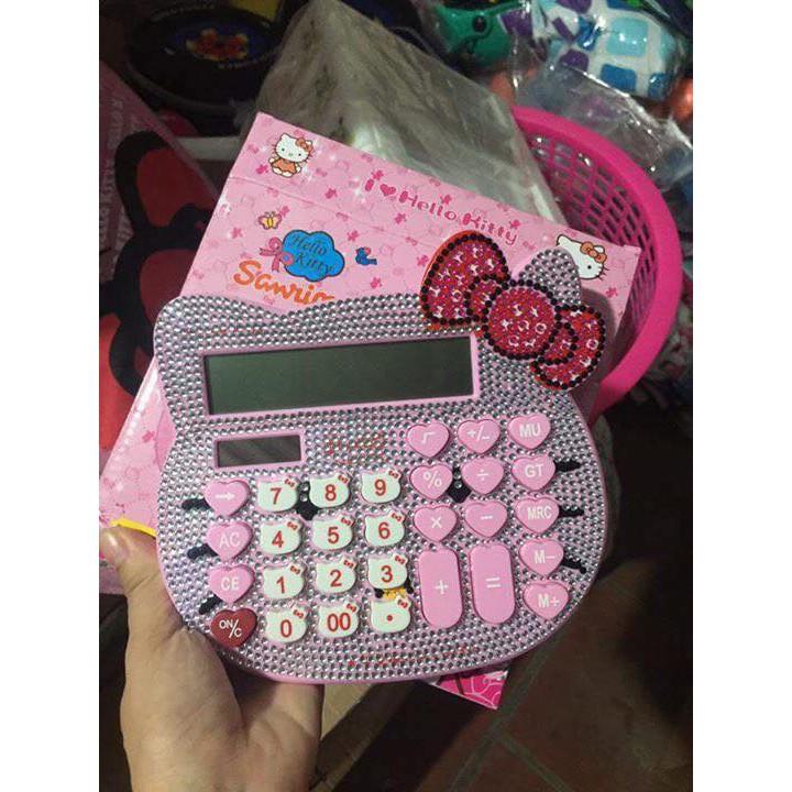 combo máy tính Kitty đính đá - 2754969 , 801127295 , 322_801127295 , 355000 , combo-may-tinh-Kitty-dinh-da-322_801127295 , shopee.vn , combo máy tính Kitty đính đá