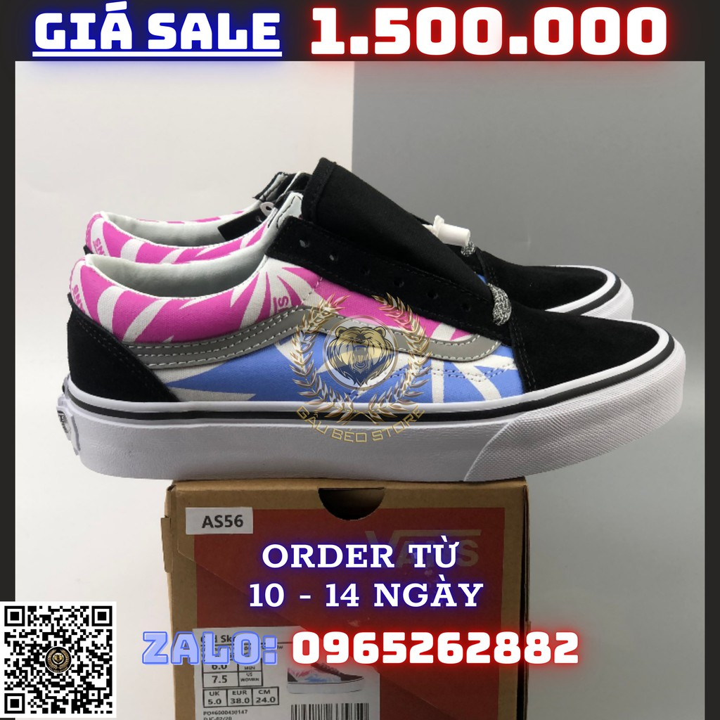 Giày Sneaker _Vans Old Skool MSP: VN0A38G2UPG PHONG CÁCH ORDER + FREESHIP ➡️ gaubeostore.shop