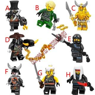 Minifigure non Lego nhân vật Ninjago loại 2 thumbnail