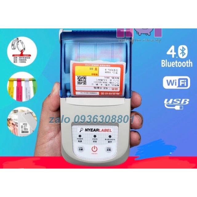 Máy GHTK WiFi Bluetooth USB 3 trong 1, in hybrid cả hóa đơn và mã vạch Giá chỉ 1.699.000₫