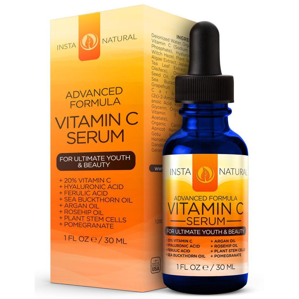 InstaNatural Vitamin C Serum 30ml - 2497656 , 5273516 , 322_5273516 , 435000 , InstaNatural-Vitamin-C-Serum-30ml-322_5273516 , shopee.vn , InstaNatural Vitamin C Serum 30ml