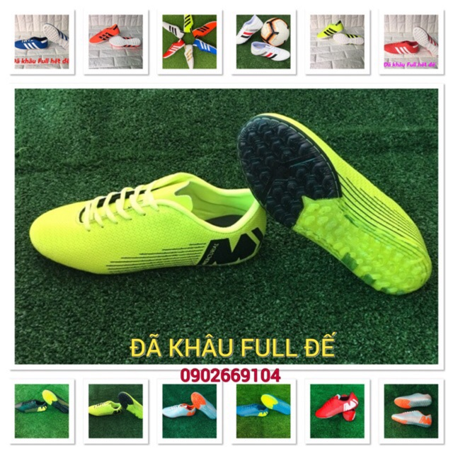 Giày đá bóng,giày đá banh,giầy thể thao,đá sân cỏ nhân tạo đã khâu mũi và mũi