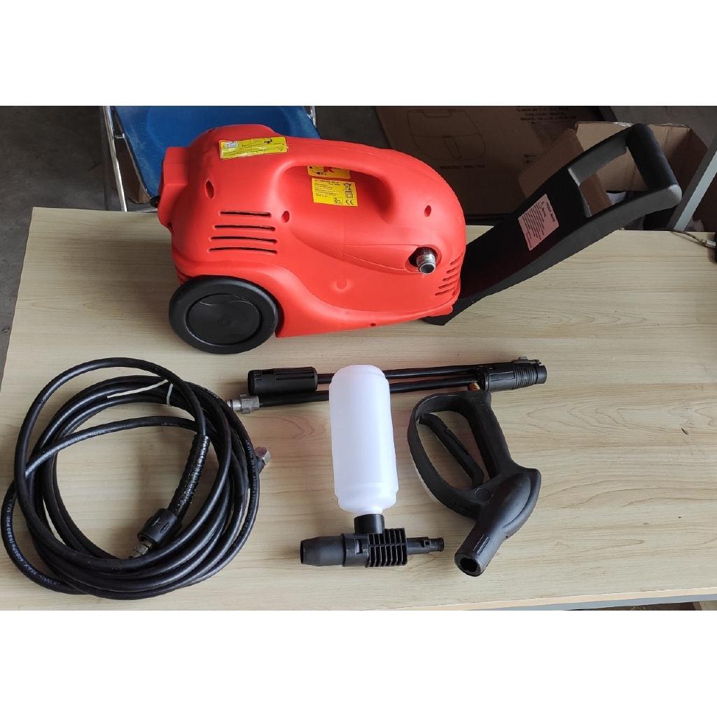 Máy phun xịt rửa xe cao áp Kallis 1600W - Màu đỏ - Hàng thanh lý
