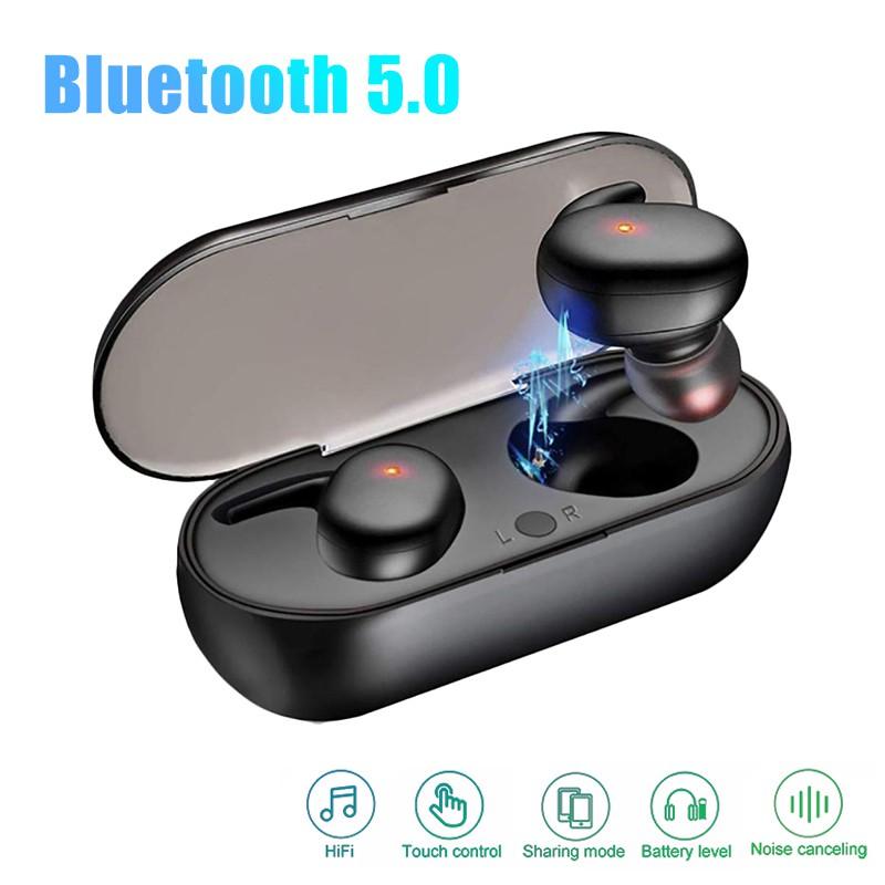 Tai nghe không dây VITOG Y30 kết nối bluetooth 5.0 âm thanh sống động chất lượng cao