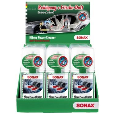 Khử mùi nấm mốc dàn lạnh ô tô - Sonax a/c cleaner