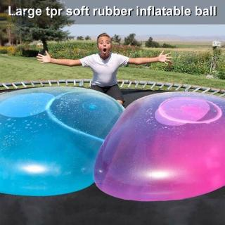 Inflatable Bubble Water Filled Beach Soft Rubber Ball for Kids Outdoor