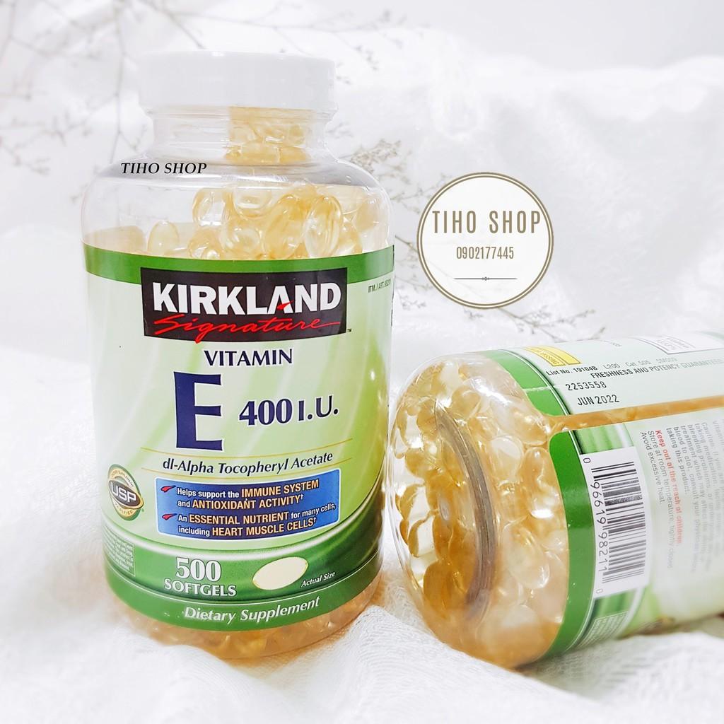 [ Chính Hãng ] Viên uống Vitamin E 400 I.U Kirkland - 500 viên - 3397164 , 673417529 , 322_673417529 , 490000 , -Chinh-Hang-Vien-uong-Vitamin-E-400-I.U-Kirkland-500-vien-322_673417529 , shopee.vn , [ Chính Hãng ] Viên uống Vitamin E 400 I.U Kirkland - 500 viên
