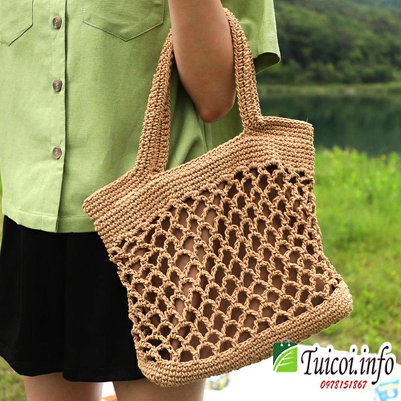 Túi len đan điệu đà -[Giá gốc tại xưởng]