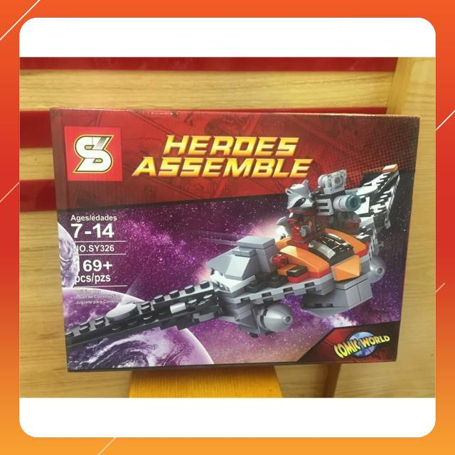 [Siêu Sock] Lego hero assemble-169 chi tiết