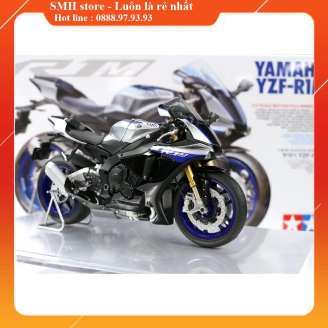 Mô Hình Xe Moto lắp ráp và sơn 1/12 Yamaha R1M (Tamiya 14133)