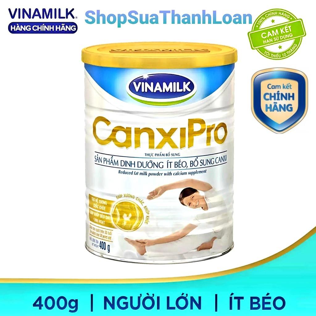 Sữa bổ sung canxi Vinamilk Canxipro