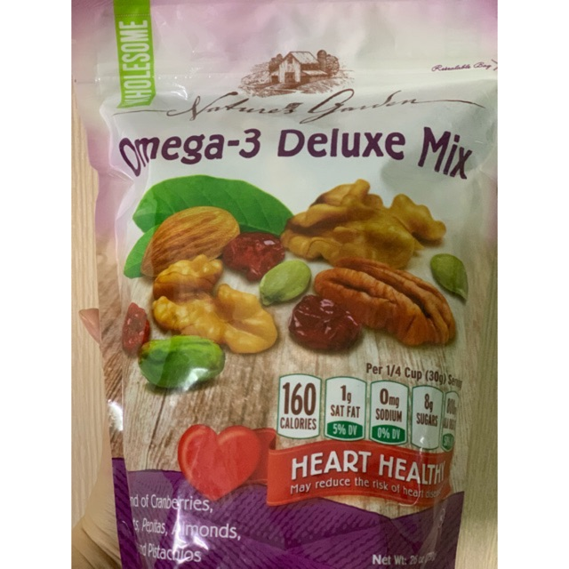 Hạt Tổng Hợp Omega-3 Deluxe Mix