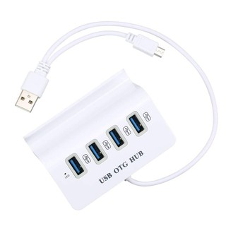 Bộ chia 4 cổng USB OTG HUB – chia cổng máy tính, kết nối điện thoại chơi game
