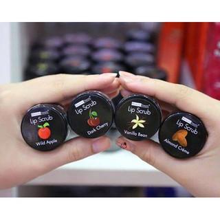 [Có sẵn] Tẩy tế bào chết môi Lip Scrub - hương Cherry, Táo, Vanilla, Hạnh Nhân (chính hãng Mỹ) thumbnail