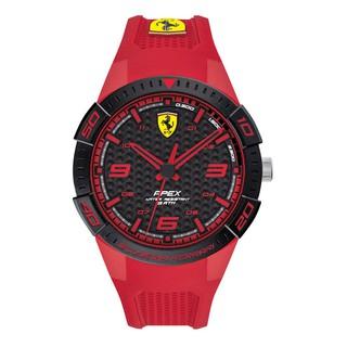 [Mã FABRR5503 giảm 20% đơn 249K] Đồng Hồ Ferrari Nam Dây Cao Su Pin-Quartz 0830748 - Mặt Đen (44mm)